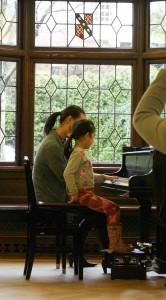 Emma's first recital